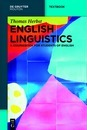 English Linguistics: A Coursebook for Students of English