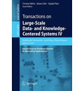 Transactions on Large-scale Data- and Knowledge-centered Systems IV