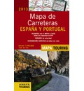 Mapa de carreteras España y Portugal 2013 / Road Map Spain and Portugal 2013: Escala 1:340.000 / Scale 1:340.000