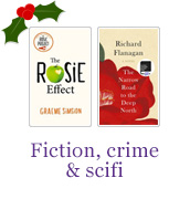Fiction, crime & scifi