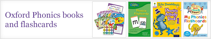 Oxford Phonics Books and Flashcards promotion