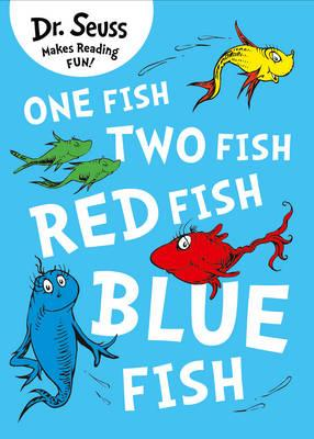 Dr seuss one fish two fish red fish blue fish dr for Blue fish book