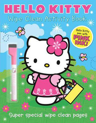 Hello Kitty - Wipe Clean Activity Book