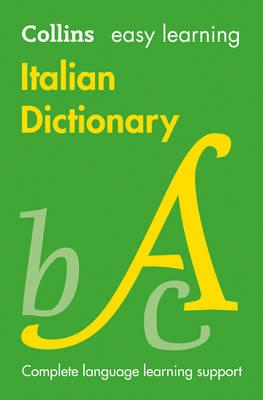 Collins Easy Learning Italian: Easy Learning Italian Dictionary