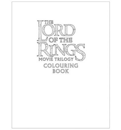 the lord of the rings movie trilogy colouring book warner brothers 9780008185176 - Lord Of The Rings Coloring Book