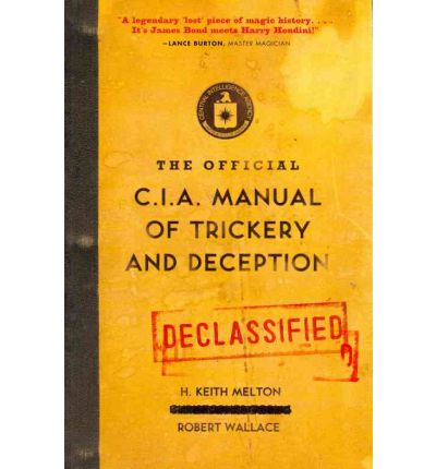 cia manual of trickery and deception pdf free