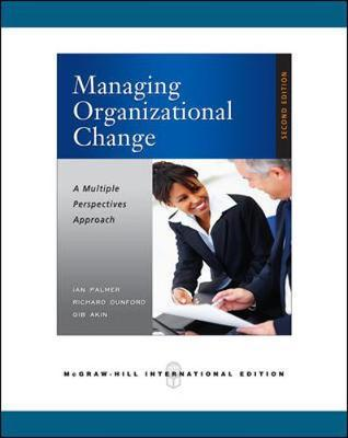 approaches to organisational change pdf