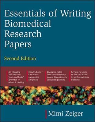 essentials of writing biomedical research papers zeiger