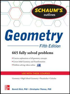 Schaum's Outline of Geometry: 665 Solved Problems + 25 Videos