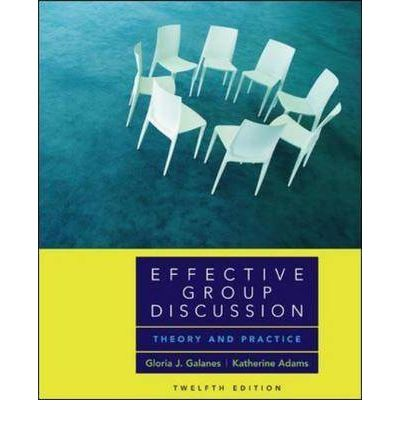 Effective Group Discussion Galanes 111