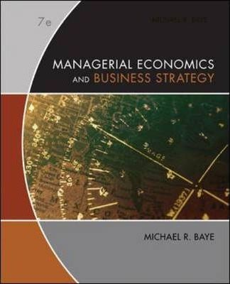 managerial economics business economics Managerial economics develops simple, practical tools and concepts for business students as well as practicing managers presenting the essentials of managerial.