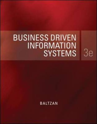 business driven information systems Business driven information systems is designed to give students the ability to understand how information technology can be a point of strength for an organization key features # course: management information systems, introduction to information systems.