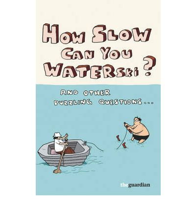 How Slow Can You Waterski?