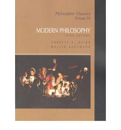 modern philosophy This is a textbook (or better, a workbook) in modern philosophy it combines readings from primary sources with two pedagogical tools paragraphs in italics introduce figures and texts.