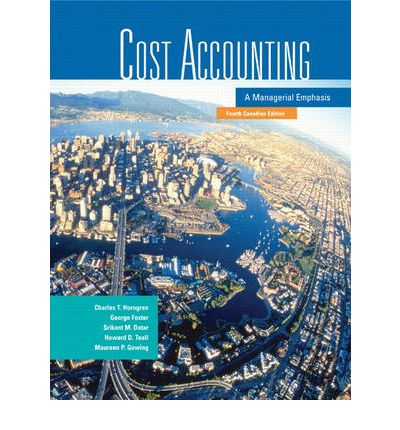 charles t horngren cost accounting pdf