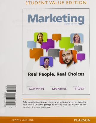 Marketing : Real People, Real Choices, Student Value Edition Plus Mymarketinglab with Pearson Etext -- Access Card Package