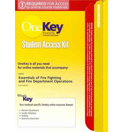 Essentials of Fire Fighting and Fire Department Operations Student Access Kit