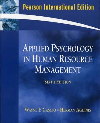 Human Resources psychology courses sydney