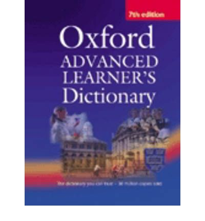 Oxford Advanced Learner's Dictionary of Current English ...