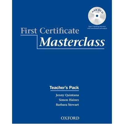 First Certificate Masterclass Teacher's Pack