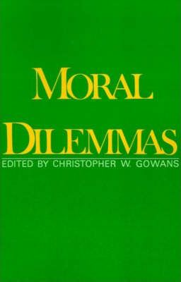 essays on moral dilemmas Free essay: the answer lies in the unique context of the dilemma traditional moral theory, which is not regarded as gender-neutral by many.