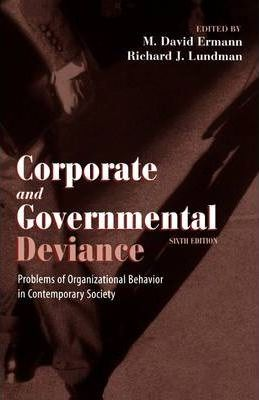 control theory corporate crime Social control theory suggests that crime, its deterrence and prevalence, is a product of the process of social learning and interactions thus, corporate crime is a consequence of the working conditions and environment of employees (simpson, 2002).