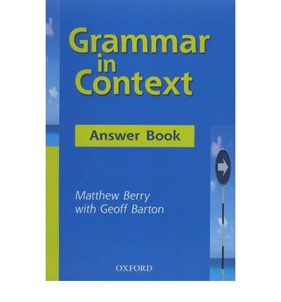 Grammar in Context: Answer Book