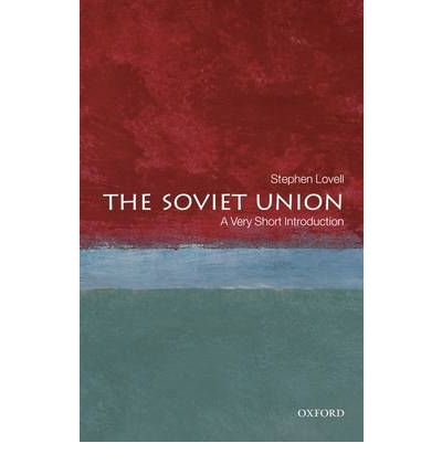 an introduction to the history of the soviet union The soviet union: a very short introduction stephen lovell very short introductions takes a refreshing thematic approach to the history of the soviet union.