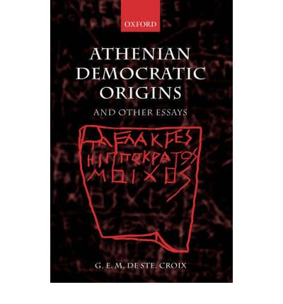 Athenian Democratic Origins