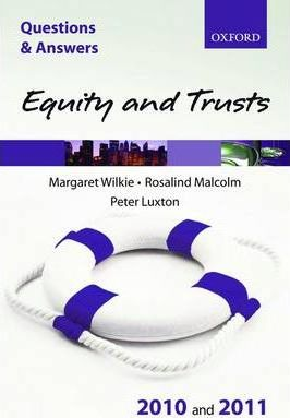 equity and trusts essay questions