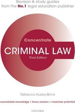 criminal law study guide A: good samaritan laws are laws or acts offering legal protection to people who give reasonable assistance to those who are injured, ill, in peril, or otherwise.