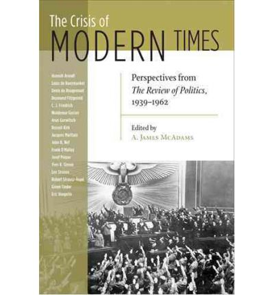 The Crisis of Modern Times