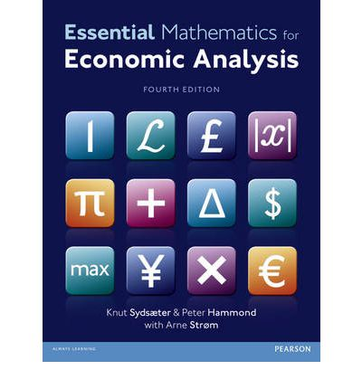 essential mathematics for economic analysis free