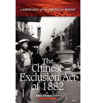 essays about chinese exlusion Chinese immigration essays: over 180,000 chinese immigration essays, chinese immigration term papers, chinese immigration research paper, book reports 184 990 essays the 1882, congress enacted the chinese exclusion act.