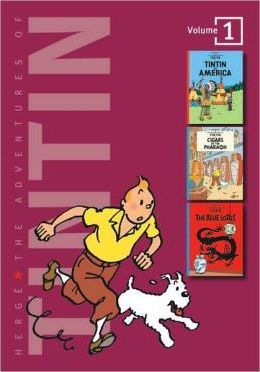 Adventures of Tintin 3 Complete Adventures in 1 Volume: WITH Cigars of the Pharaoh AND The Blue Lotus