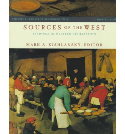 Sources of the West Volume 1 3e