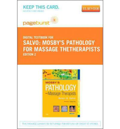 librerie online e-book libri gratuiti Mosbys Pathology for Massage Therapists - Pageburst E-Book on Vitalsource Retail Access Card MOBI by Susan G Salvo