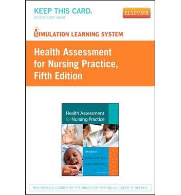 Health Assessment for Nursing Practice Simulation Learning System Access Code