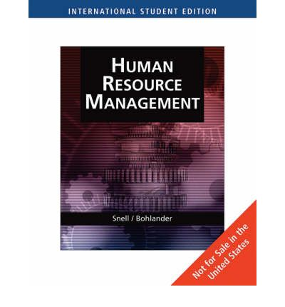 managing human resources 16th bohlander Managing human resources, 17th edition by scott a snell, shad s morris, bohlander (test bank), instant access after placing the order all the chapters are included.