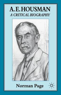 AE Housman – Biography