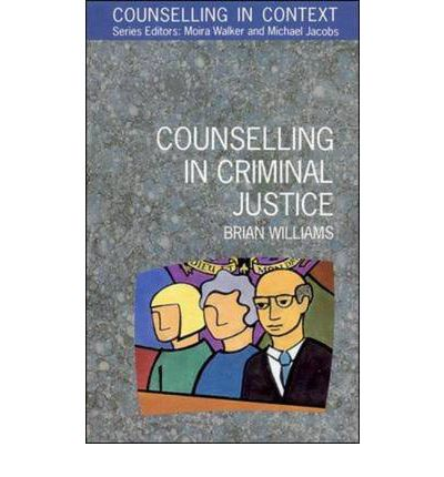 counselling criminals Therapists' obligations to report their patients' criminal acts paul s appelbaum, md and alan meisel, jd the law govemlng the obligation of therapists to report their patients' previous criminal.