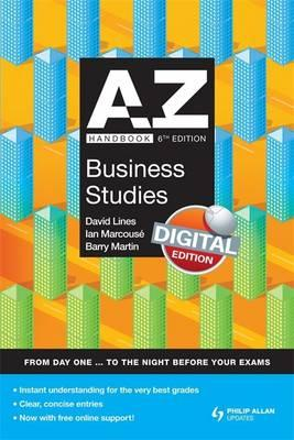 a-z business studies coursework handbook Business as & a level revision: easter 2018 tuition led by examiner/author ian marcousé and involving an expert team small group sizes pre-coursework set and marked to allow one-to-one tuition on exam technique.