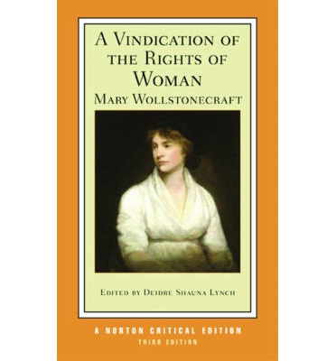 the rights of women as explained in throughout the vindication the rights of woman