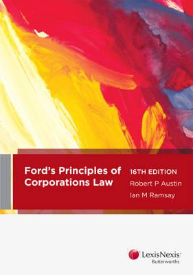 Ford, Austin & Ramsay's Principles of Corporations Law Cover Image