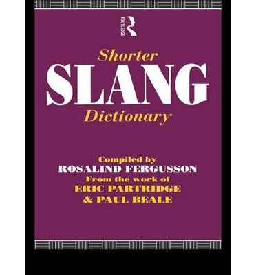 Shorter Slang Dictionary