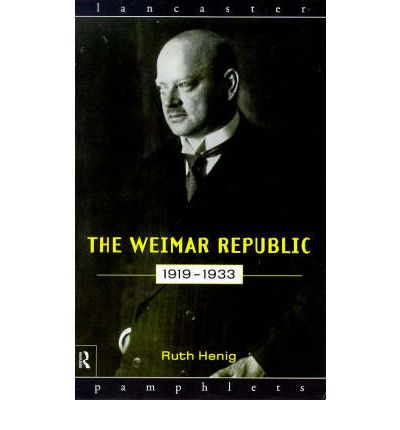 The Weimar Republic 1919-33