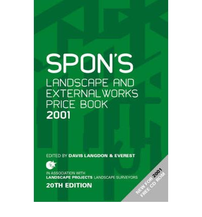 Spon's Landscape and External Works Price Book 2001