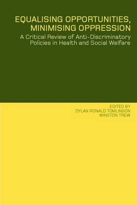 concepts of discriminatory and anti discriminatory For years anti-discriminatory and anti-oppressive practice have been embedded in the social work landscape thinking beyond the mainstream approaches, this book critically examines some of the core concepts and issues in social work, providing fresh perspectives and opportunities for educators, students and practitioners of social work.
