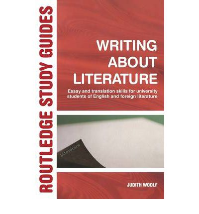 literary studies and university writing skills Although literary theory might sometimes seem intimidating,  creative writing and film studies medical and health  literary theory: an introduction (online).