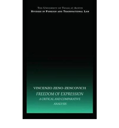 Freedom of expression a comparative analysi